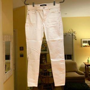 4S white skinny jeans
